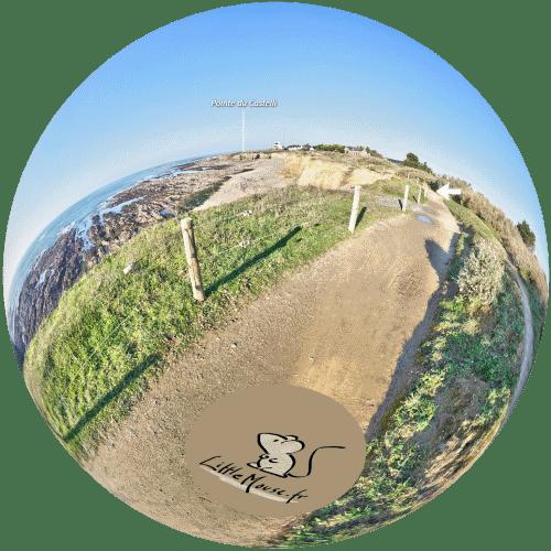 Visite virtuelle du Castelli à Piriac-sur-Mer